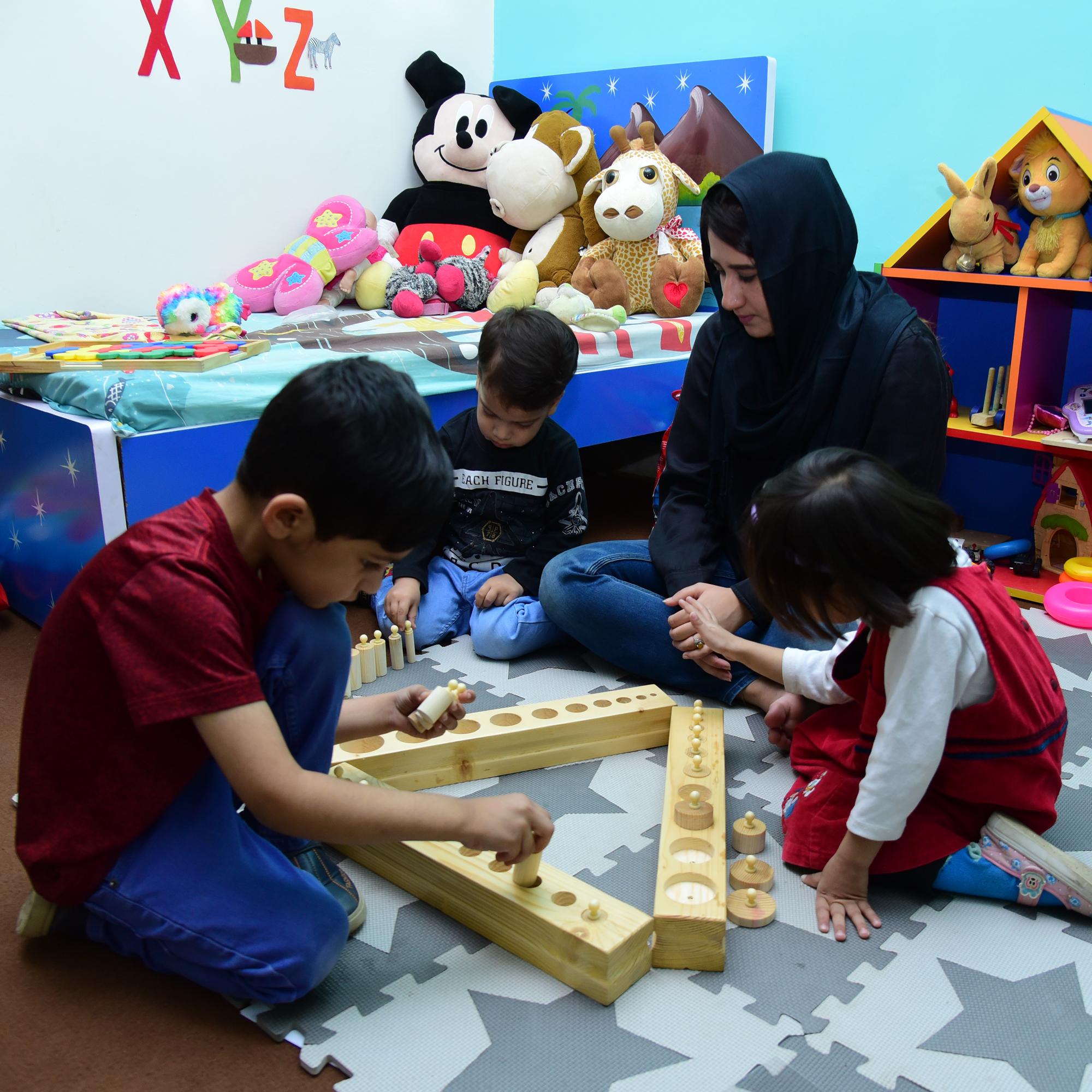 Montessori Apparatus